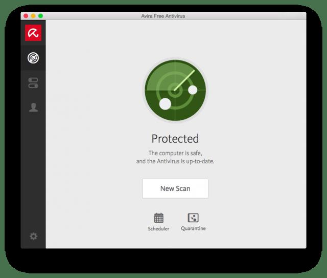 Avira Free Antivirus pour Mac