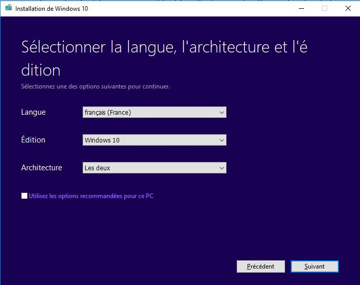 Telecharger Windows 10