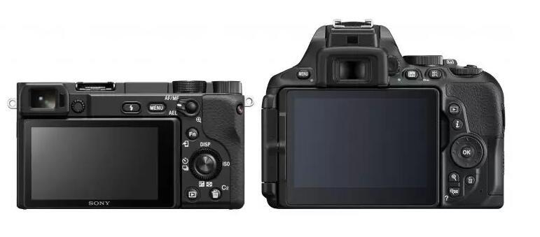 Nikon D5600 vs Sony a6400
