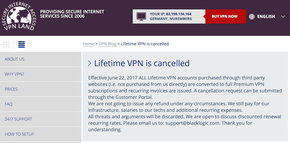 arnaques VPN